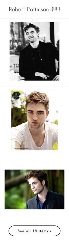 """Robert Pattinson :)!!!!!"" by nerdbucket ❤ liked on Polyvore featuring robert pattinson, twilight, models, people, backgrounds, edward, twilight saga, fundo and harry potter"
