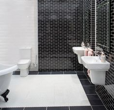 Classic white metro tile paired with glass mosaic metrol tiles. Use with white grout to highlight the running brick pattern. Glass, Brick Patterns, Tiles, Glass Tile, Ambient Lighting, Metro Tiles, Mosaic Glass, White Tiles, Brick