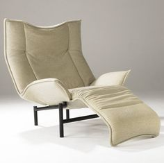 Vico Magistretti, Veranda lounge Chair for Cassina, 1983.