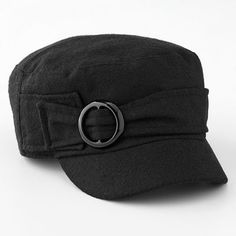 love cadet hats, especially for fall!  i have a collection!