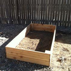 My DIY garden box. Made 2 for under $40.