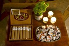 Party favor for cigar themed birthday: custom matchboxes and Rolo cigars. you could do a scotch and cigar party! Or Scott and cigar . 30th Birthday Parties, 60th Birthday, Masculine Party, Jack Daniels Birthday, Cigar Party, Havana Nights Party, Homemade Wedding Favors, Holiday Parties, Party Time