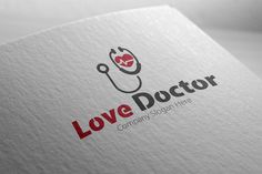 Love Doctor Logo by Josuf Media on Creative Market