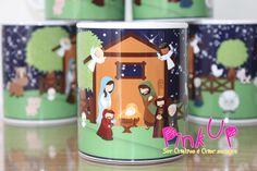 Caneca Presépio, o Natal ta chegando.  #PinkUpCustom #Presente #personalizado #Caneca #Ceramica #Porcelana #Chinelo #Casamento #Aniversário #Batizado #Chadebebe #chabar #brinde #evento #festa #Presépio #Natal #FimdeAno