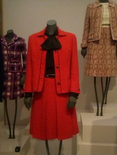 Tentoonstelling Coco Chanel, 2014.