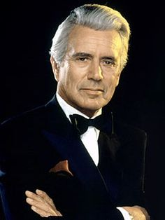Seasoned actor John Forsythe - played the voice of Charlie in Charlie`s Angels (born January died April and well as the patriarch in the mega hit and long running ``Dynasty`` TV series. John Forsythe, Dynasty Tv, Cult Of Personality, Ripped Men, Actor Studio, Actor John, Cinema, Star Show, Thanks For The Memories