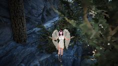 Kibelius Robe A with wings. My witch looks like she's about to fly off somewhere :)
