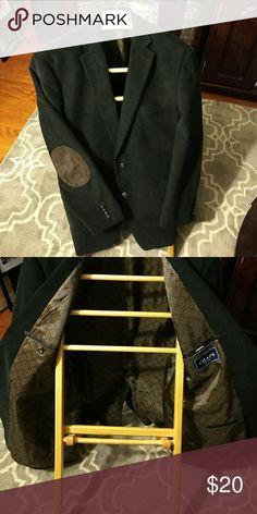 Chaps Blazer Black/ Brown buttons & elbow pads Corduroy mens blazer Mint Condition Chaps Suits & Blazers Sport Coats & Blazers