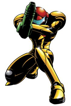 #Metroid -Samus is one bad byotch!