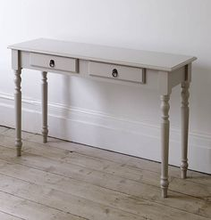Living Room   French Narrow Console Table   The Dormy House