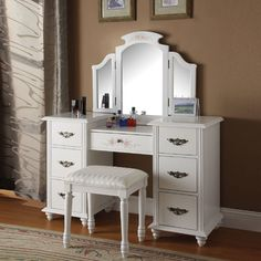 Torian Vanity Set with Mirror