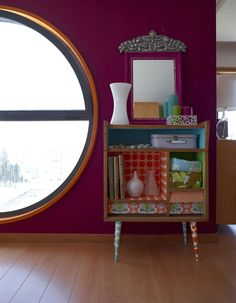 A bright and bold family home