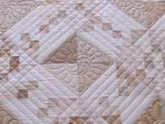 white chocolate quilt.    Would also be pretty in taupes.