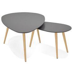 Modulez votre intérieur à votre souhait avec les tables gigognes GOLDA de style scandinave.  http://techneb.com/shop/fr/tables-basses/3991-tables-basses-design-ovales-gigognes-golda-en-bois-et-chene-massif-gris-fonce.html  #table #gigogne #bois #art #scandinave #design #intérieur #techneb
