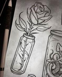 Disegni Facili Da Fare Disegno A Matita Di Colore Nero Con