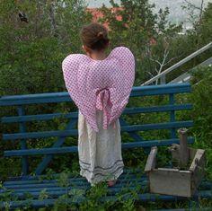 Waldorf Style Soft Fabric Angel Wings Dress Up by GreenManShop, $18.00