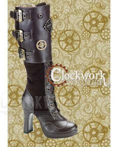 Secrets of the Beekeeper - 2 colors - Tall Boots - Ladies - Footwear