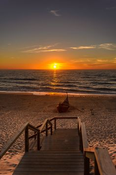 sunset Vagueira beach by Luis Andre Diogo on 500px