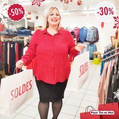 La saison des soldes à commencer. Vive la mode grande taille. #mode #grandetaille #hiver #soldes #femme #ronde Plus Sized Clothing, Man Women