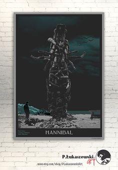 HANNIBAL Mads Mikkelsen alternative movie by PLukaszewskiArt