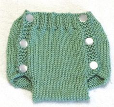 Diaper Cover Knitting Pattern  PDF  Medium  3  to 6 by ezcareknits, $4.00