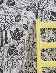 Autumn Wallpaper in Charcoal - x roll Lovingly made in England. Bring the outside, inside! A simple, but elegant design. Available in charcoal and soft grey (see separate page). Linen Wallpaper, Paper Wallpaper, Wallpaper Online, Wallpaper Samples, Scandi Wallpaper, Wallpaper Designs, Autumn Leaves Wallpaper, Sustainable Management, Contemporary Wallpaper