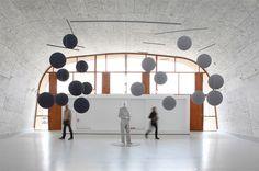 Xavier Veilhan ◆ Le Mobile (Le Corbusier), 2013. Aluminium, résine,