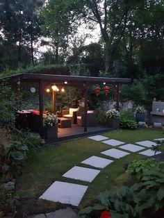 Stepping Stone Pathway, Garden Architecture, Garden Painting, Backyard, Patio, Imagines, Pathways, Future House, Pergola