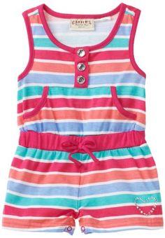 Carters Baby-Girls Infant Stripe Print Romper $12.60