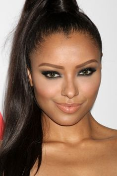 Actress and singer Kat Graham- half Liberian American and half East European Jewish.