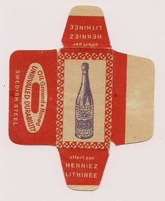 Vintage Razor Blade Wrappers - Google Search