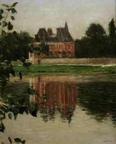 Gustave Caillebotte-Château Michelet