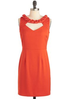 Dresses for Women at ModCloth come in a variety of styles, colors and sizes. Shop ModCloth for unique dress styles to add to your wardrobe today! Unique Dresses, Cute Dresses, Dresses For Work, Retro Vintage Dresses, Vintage Inspired Dresses, Orange Fashion, Mod Dress, Bridesmaid Dresses, Orange Bridesmaids