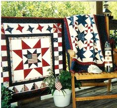Deck decor on the 4th of July
