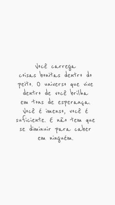 Fonte: @vibesdejah Me acompanhe pelo instagram @dourivaltavares Positive Phrases, Motivational Phrases, Inspirational Quotes, Words Quotes, Me Quotes, Sayings, More Than Words, Some Words, Frases Dr