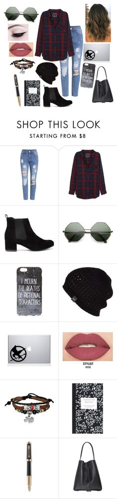 """""""I mourn the deaths of fictional characters"""" by youtube-crazy ❤ liked on Polyvore featuring Rails, UGG, Smashbox, Bling Jewelry, Dot & Bo and Parker"""