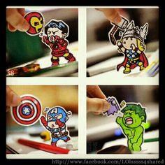 Avengers em apuros!