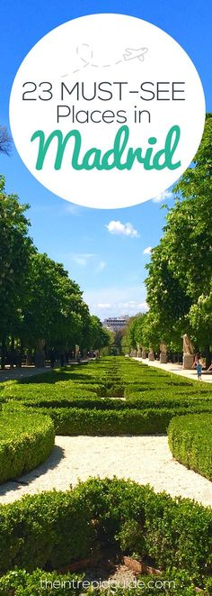 With so many museums to visit and wonders to see, choosing what to do in Madrid can be very overwhelming! Here are 23 must-see places in Madrid. Cool Places To Visit, Places To Travel, Travel Destinations, Spain Places To Visit, Visit Madrid, Madrid Travel, Spain And Portugal, Menorca, Future Travel