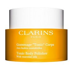 Clarins Gommage Tonic Corps Auix Huiles Essentielles 250ml Cosmetiques Online