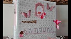 Álbum de Bebé niña - baby girl álbum Scrapbook