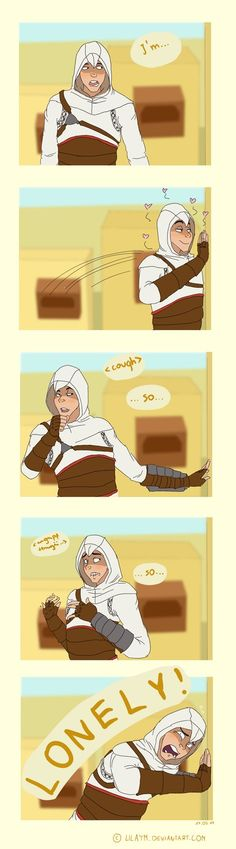 Lonely Altair by LilayM on DeviantArt