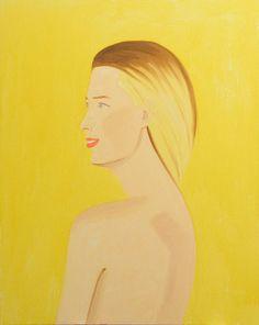 Alex Katz, Nude, 2011