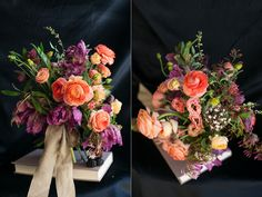Hi Dave! I know this is going more towards garden, but I love these colors together for centerpieces!