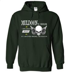 MULDOON RULE\S Team .Cheap Hoodie 39$ sales off 50% onl - #tshirt bag #striped sweater. PURCHASE NOW => https://www.sunfrog.com/Valentines/MULDOON-RULES-Team-Cheap-Hoodie-39-sales-off-50-only-19-within-7-days-56000761-Guys.html?68278
