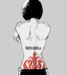 Tooru-Mutsuki | Tokyo ghoul:re