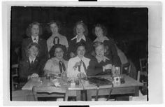 [WAVES at dinner, circa 1944] :: Women Veterans Historical Project