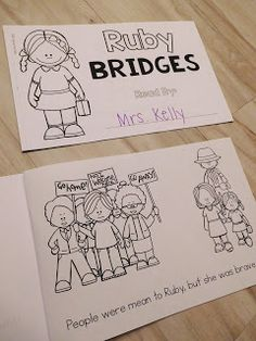 Mini Reader for Black History Month.  Kids love to learn about Ruby Bridges!