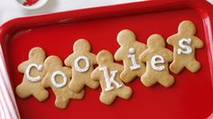 recipes: Sugar Cookies, Lacy Oatmeal Cookies, Giant Gingerkids, Lemon ...