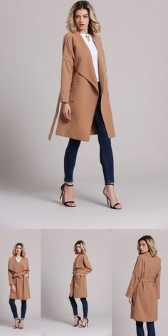 Every Girl should gonna have to restock in Her Wardrobe! Check www.shein.com to find more beautiful long coats!