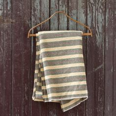 Striped Wool Throw
